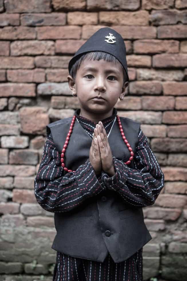 Boy in Bhaktapur